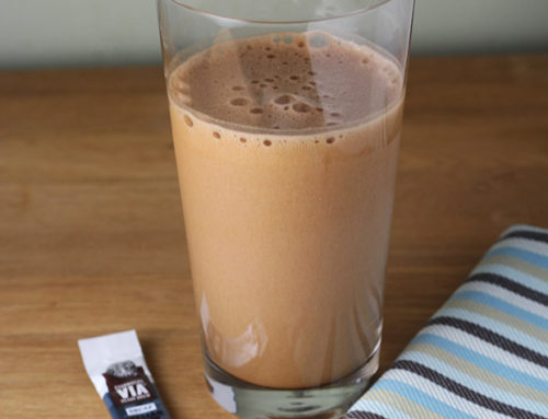 Mocha Frappe Protein Shake