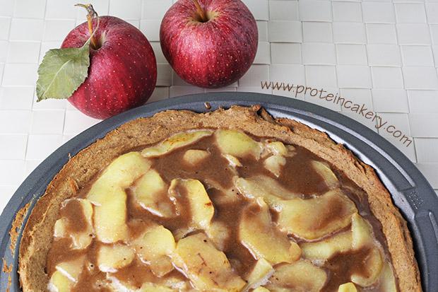 caramel-apple-protein-pie-top