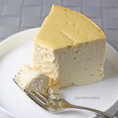 Protein Cheesecake - made with whey protein