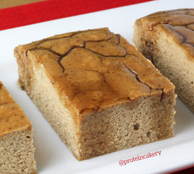 gingerbread-protein-cake