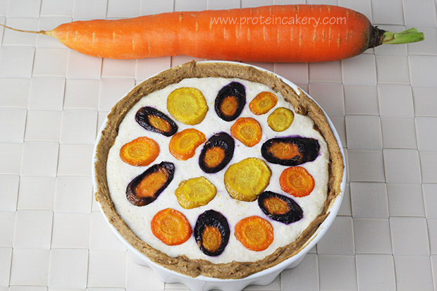 rainbow-carrot-protein-ricotta-tarte-top