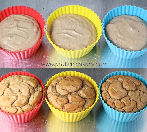 cinnamon-apple-protein-cake-cupcake