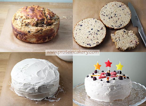 confetti-protein-birthday-cake-process