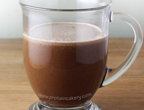 Peppermint Mocha Protein Latte