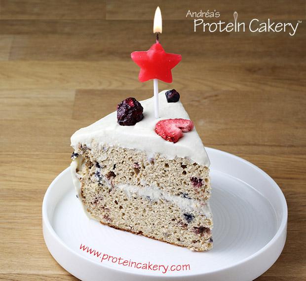 Prime Confetti Protein Birthday Cake Andreas Protein Cakery Funny Birthday Cards Online Chimdamsfinfo