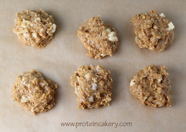 Banana Peanut Butter Protein Cookies - Andréa's Protein Cakery
