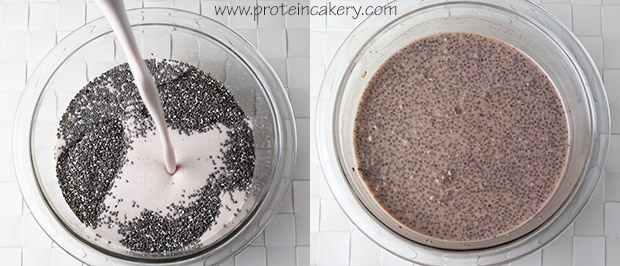 chocolate-chia-protein-pudding-process