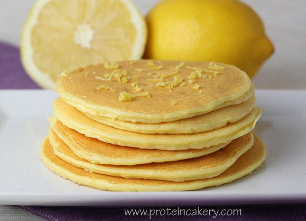 lemon-ricotta-protein-pancakes