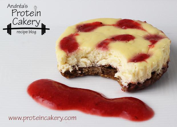 protein-cakery-strawberry-protein-cheesecake-bites