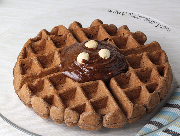 double-chocolate-protein-waffle