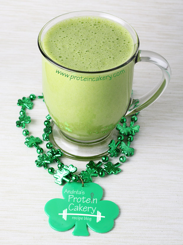 Shamrock Protein Shake - Andréa's Protein Cakery