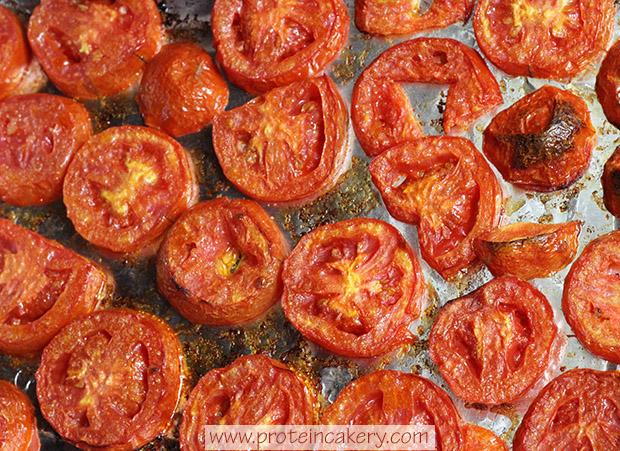 tomato-basil-protein-focaccia-roasted-tomatoes