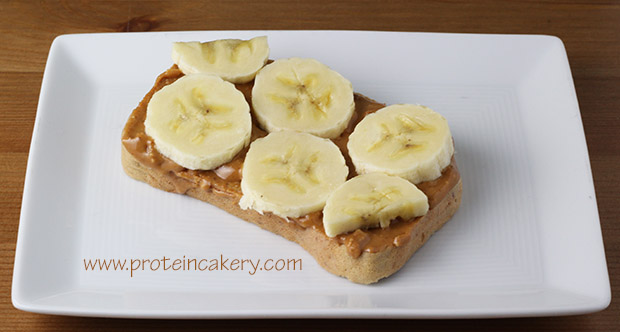 basic-protein-bread-banana-peanut-butter