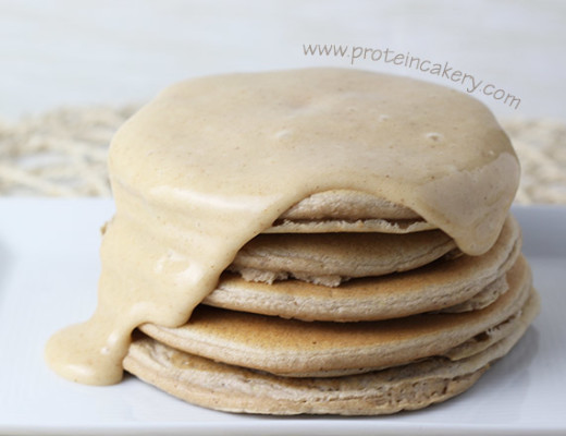 iced-cinnamon-protein-pancakes