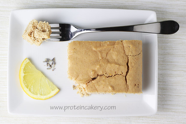 lemon-lavender-protein-cake-warrior-blend