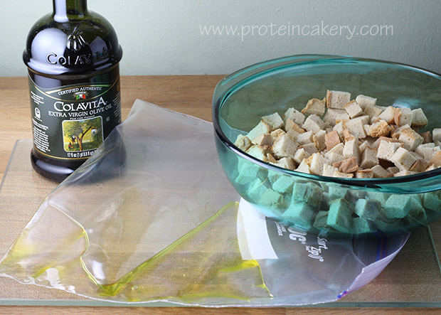 protein-croutons-olive-oil
