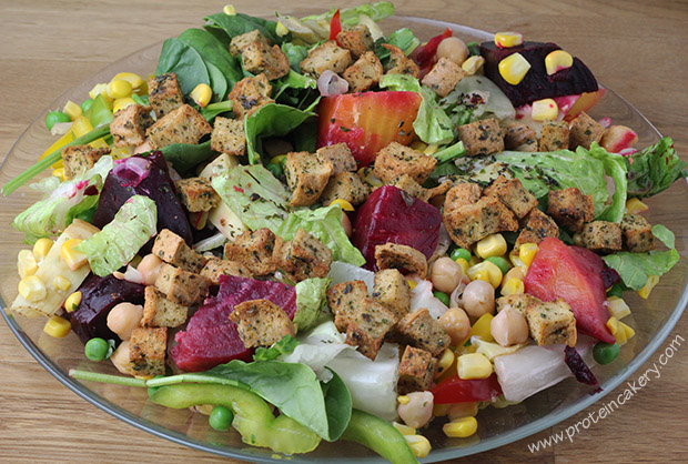 protein-croutons