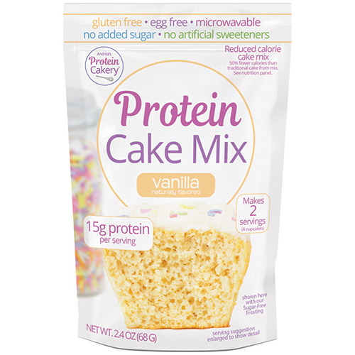 vanilla protein cake mix