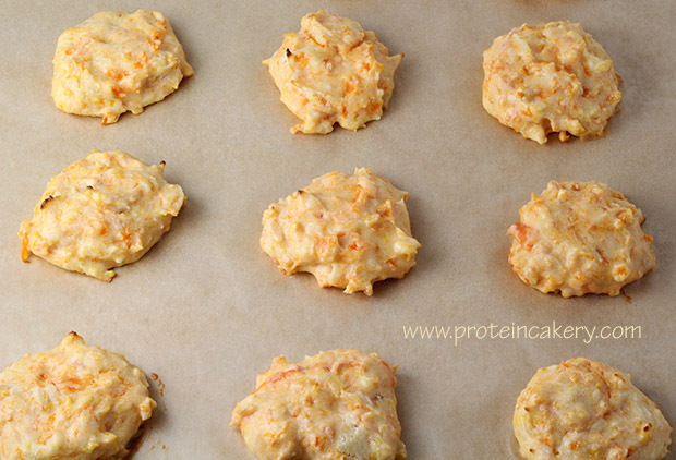 carrot-orange-protein-cookies-coconut