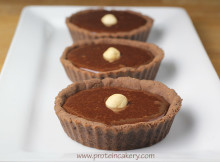 chocolate-hazelnut-protein-tartlets