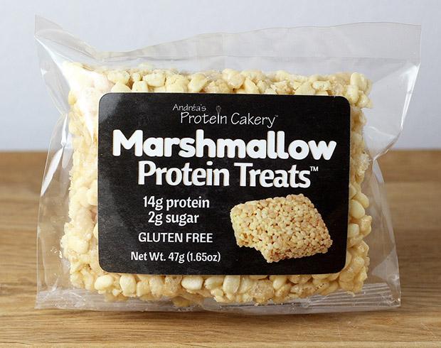 Marshmallow Protein Treats