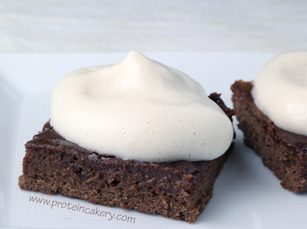 protein-marshmallow-fluff-brownie