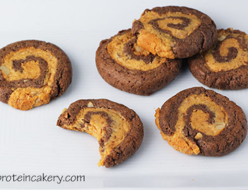 Chocolate Peanut Butter Banana Pinwheel Cookies