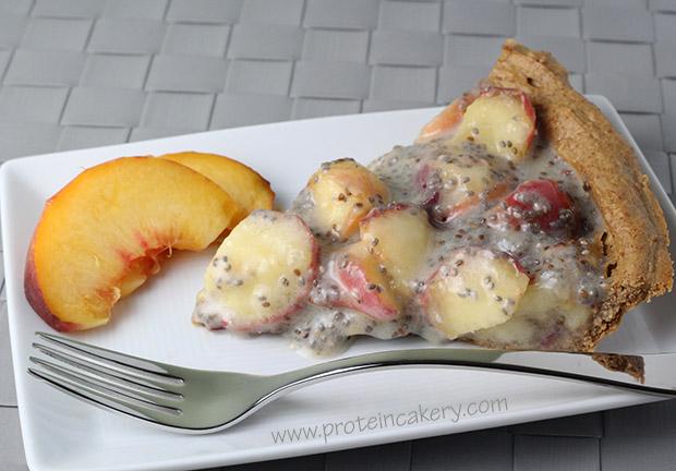 peaches-and-cream-hazelnut-protein-pie
