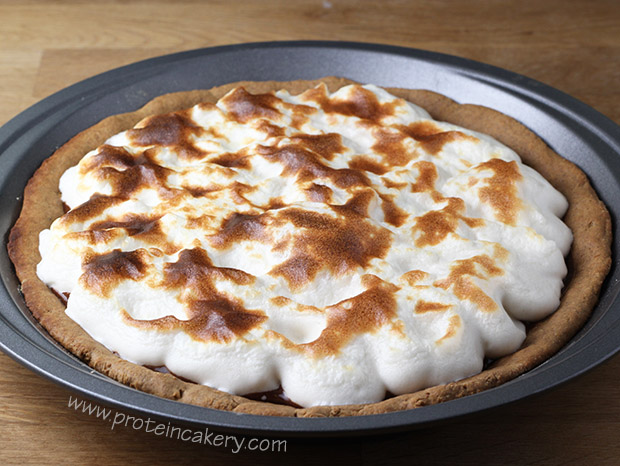 s'mores-protein-pie