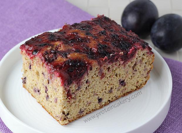 sugar-plum-protein-cake