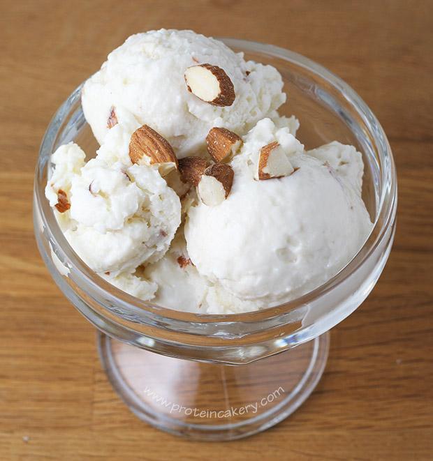 vanilla-almond-protein-frozen-yogurt