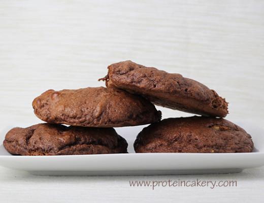 chocolate-banana-protein-cookies