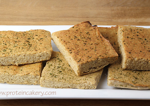 garlic-protein-bread