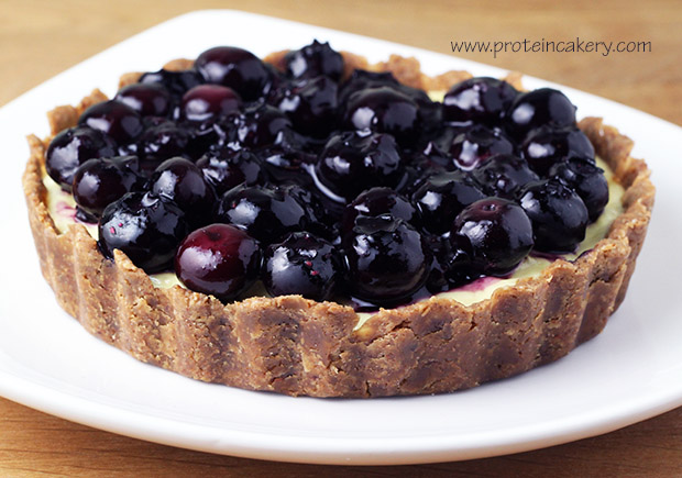 protein-cakery-blueberry-cheese-pie