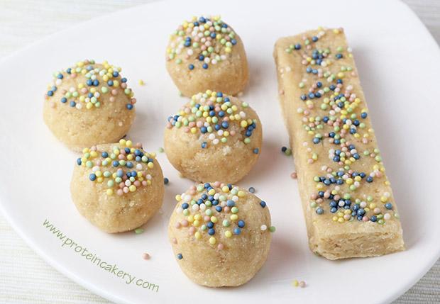 cake-batter-protein-truffles-no-bake