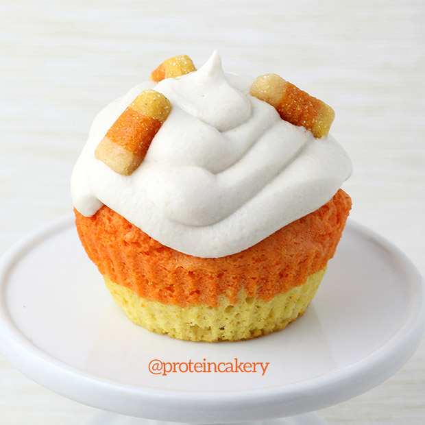 candy-corn-protein-cupcakes-gluten-free-1
