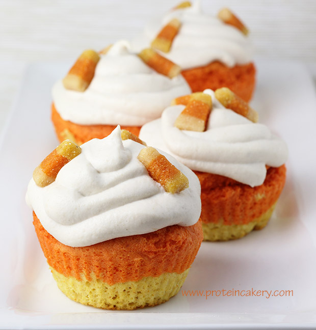 candy-corn-protein-cupcakes-gluten-free