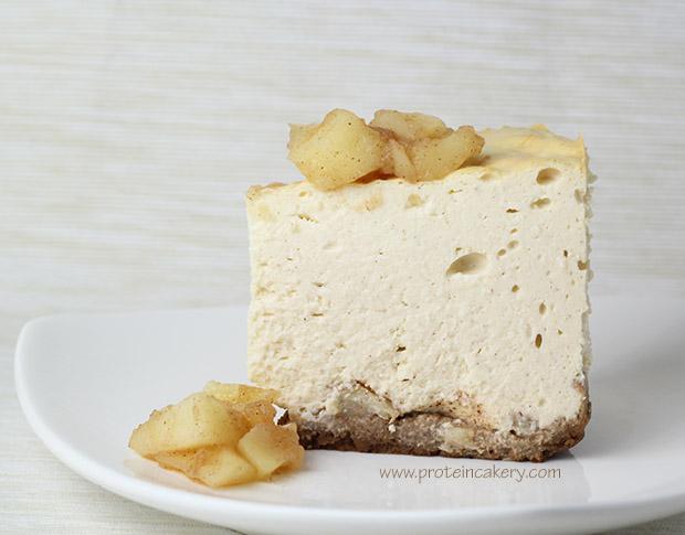 protein-cakery-cinnamon-apple-protein-cheesecake