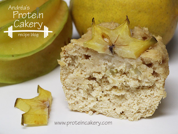 Meyer Lemon and Starfruit Protein Cupcakes with Jamie Eason Whey ...