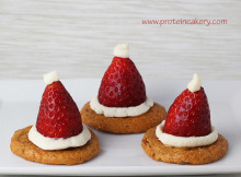 quest-strawberry-cheesecake-santa-hats