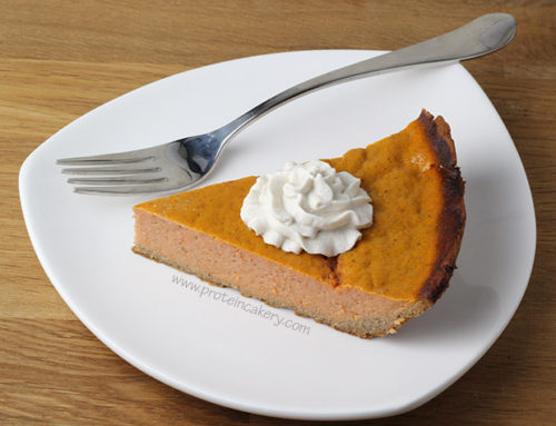 Sweet Potato Protein Pie