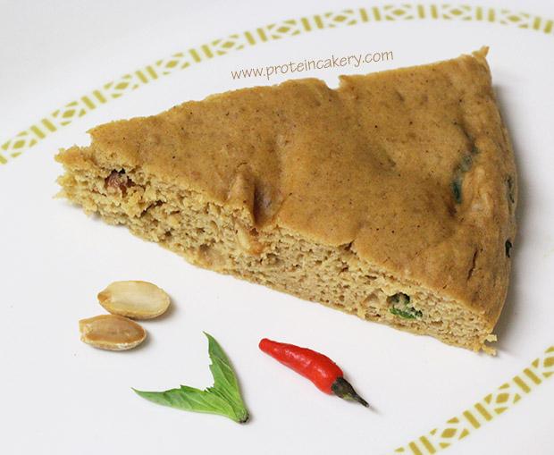 thai-peanut-protein-cake