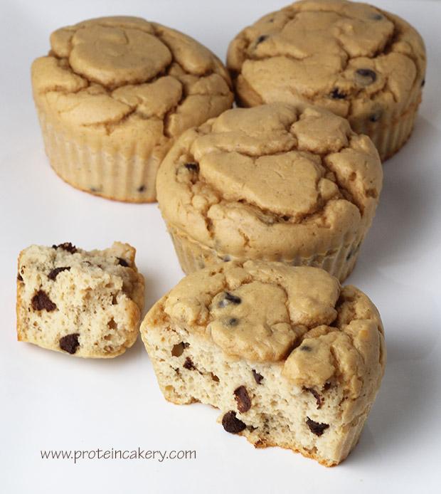 chocolate-chip-protein-muffins-gluten-free