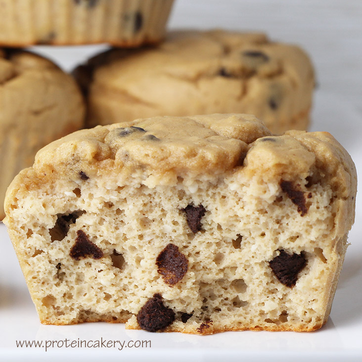 chocolate-chip-protein-muffins-glutenfree