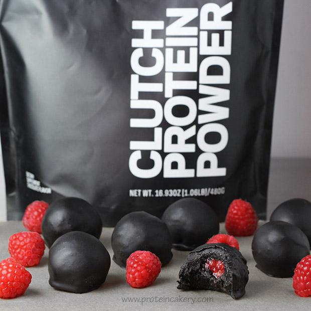 chocolate-raspberry-protein-truffles-clutch