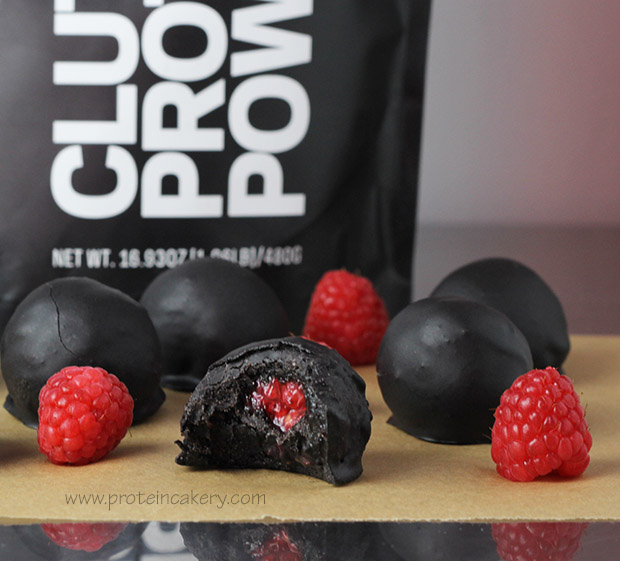 chocolate-raspberry-protein-truffles-low-sugar