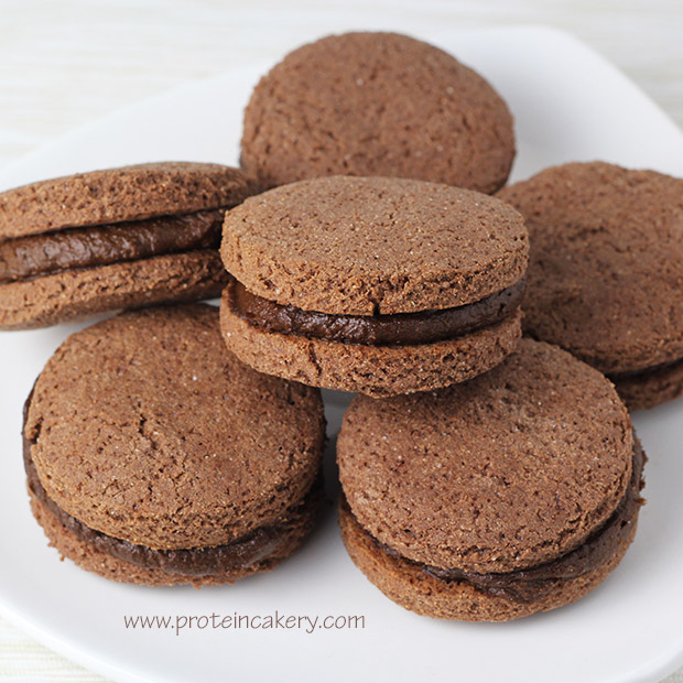 double-chocolate-frosting-protein-cookies-gluten-free