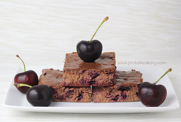 chocolate-cherry-protein-brownies-isopure