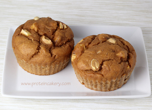 apple-peanut-protein-muffins-glutenfree