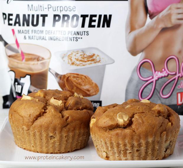jamie-eason-apple-peanut-protein-muffins